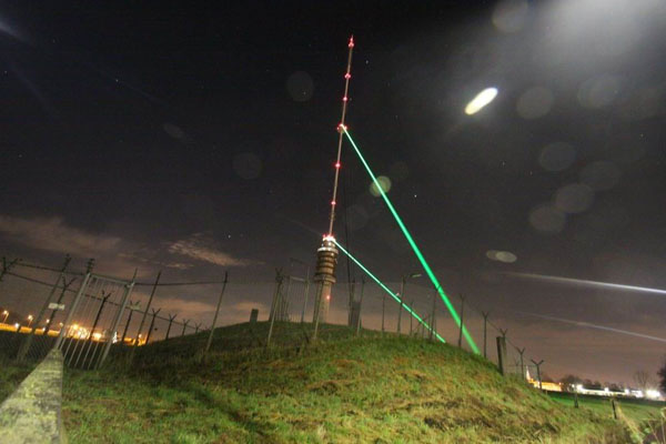 Test Laser Kerstboom te Lopik